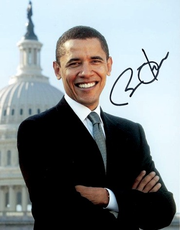 Обама и его подпись, определяем характер по подписи