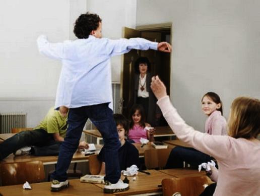 гиперактивность в школе, что делать?
