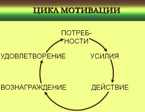 цикл мотивации