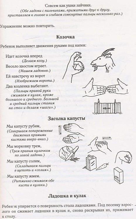 пальчиковые игры , играя развиваем