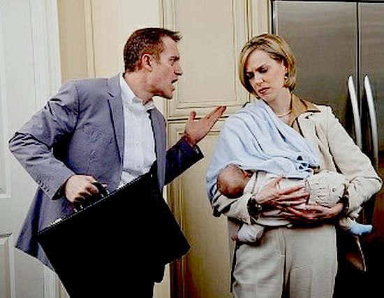 кризис после рождения ребенка в семье