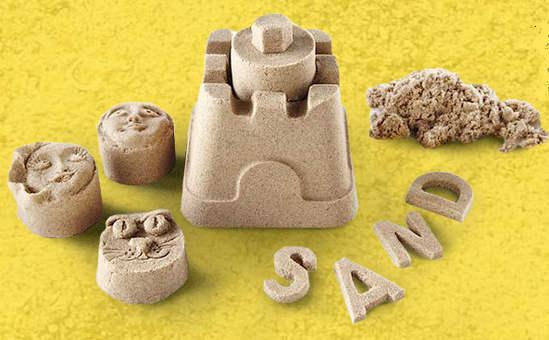 кинетический песок для развития детей