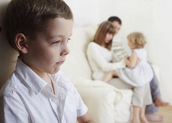 детская ревность и соперничество
