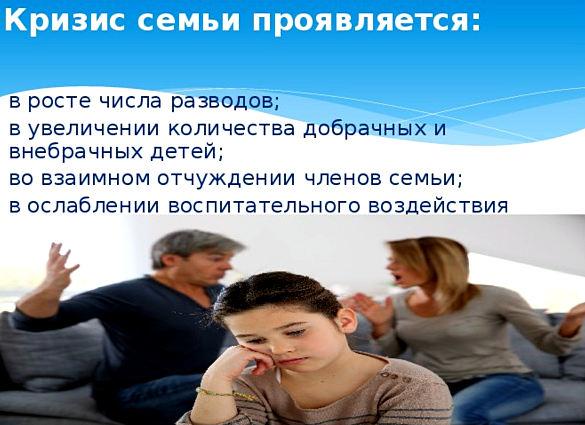 кризис семьи
