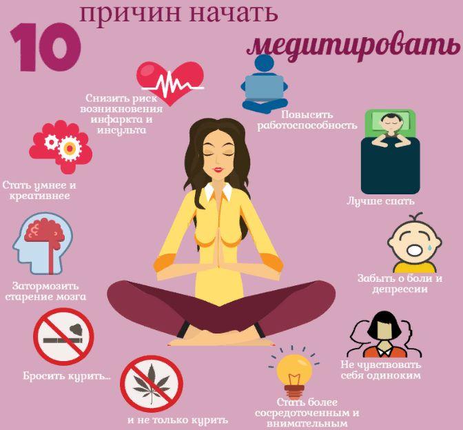 10 причин начать медитировать