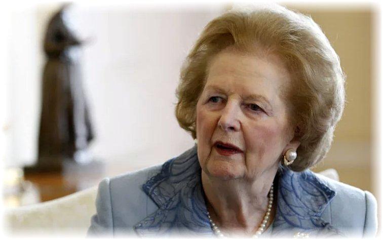 Маргарет Тетчер - железная леди