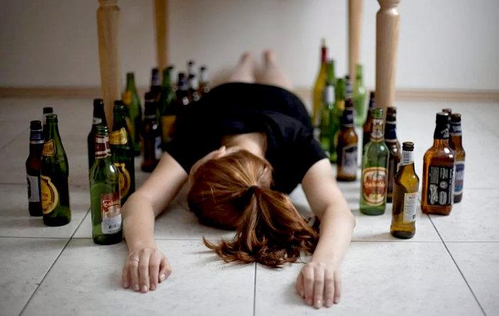 женский алкоголизм - причины